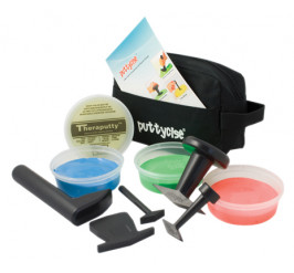 Puttycise TheraPutty Set medium 5 tools
