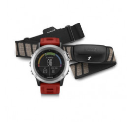 Garmin Fenix® 3 HR silber Performer Bundle