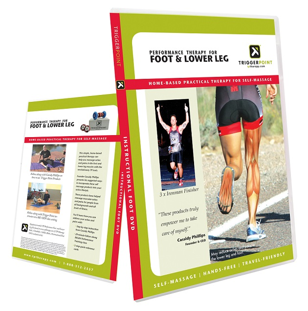 Trigger Point DVD Foot & Lower Leg Therapy bei Reviwell - Fitness & Sport