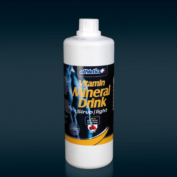 Athletic Plus Mineral Vitamindrink Light (5,5 kcal)-Blutorange